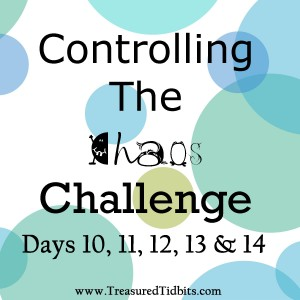 COntrolling the Chaos Challenge Days 10 to 14