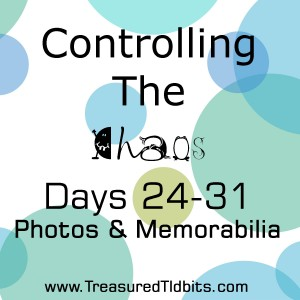 COntrolling the Chaos Days 24-31 Photos and Memorabilia