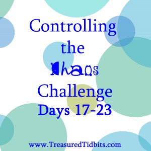Controlling the Chaos Challenge Days 17-23