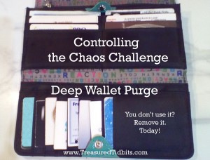Controlling the Chaos Challenge The Deep Wallet Purge