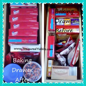 Just Make Do Baking Drawer Before & After