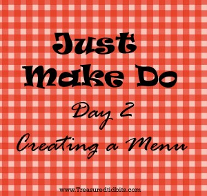Just Make Do Day 2