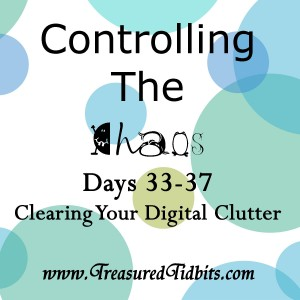 COntrolling the Chaos Days 33-37