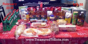 Kroger Feb 2016 Shopping #1