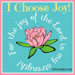 Link up BUtton Choose Joy