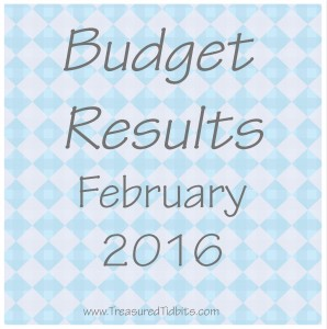 Budget Results February 2016
