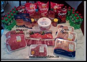 County Market Shopping Haul April 2016