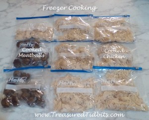 Precooked CHicken and Meatballs