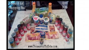 Save A Lot Shopping Haul April 2016