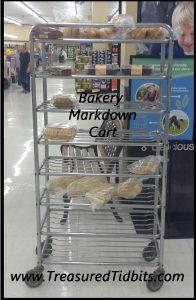 Kroger Bakery Markdown Cart