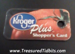 Kroger Loyalty Card