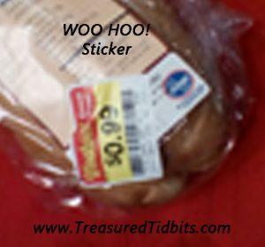 Kroger Woo Hoo Sticker