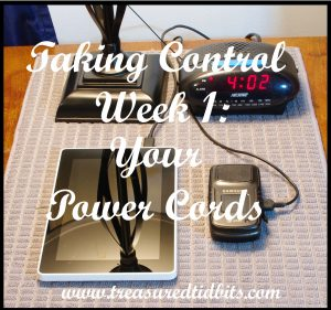 Taking Control Week 1 Power COrds