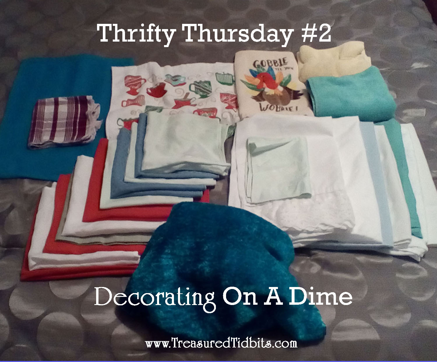 treasured tidbits by tina decorating on a dime thrifty thursday 2