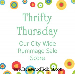 Thrifty Thursday City Wide Rummage Sales