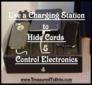 Use a Charging Station To Control Cord and ELectronics