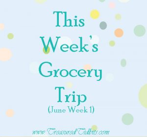 This Week's Grocery Shopping Trip June 2016