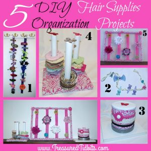 5 DIY Hair Supply Organization Ideas