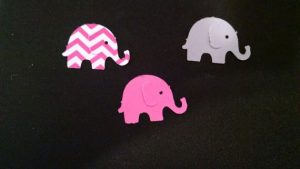 BitsnPiecesShoppe Elephant Confetti