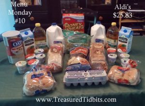 Menu Monday #10 Aldi's Trip #2