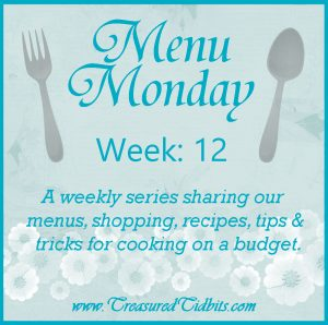 Menu Monday #12 Square