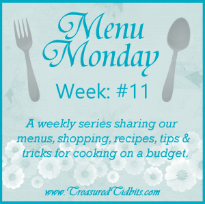 Monday Menu 11 Facebook