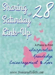 Sharing Saturday Link Up #28