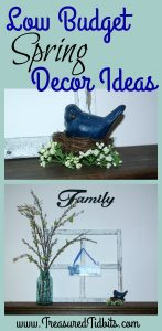 Simple Spring Decor Ideas on a Budget PIn