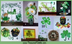 St Patrick's Day DIY Collage