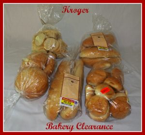 Kroger Bakery Clearance August Shopping Trip/Stocking Up