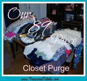 Our 89 Piece Closet Purge FB