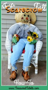 diy scarecrow tutorial