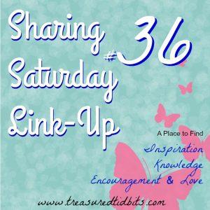 Sharing Saturday link up #36
