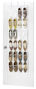 clear-over-the-door-organizer-for-the-bathroom storage outside-the-cabinets