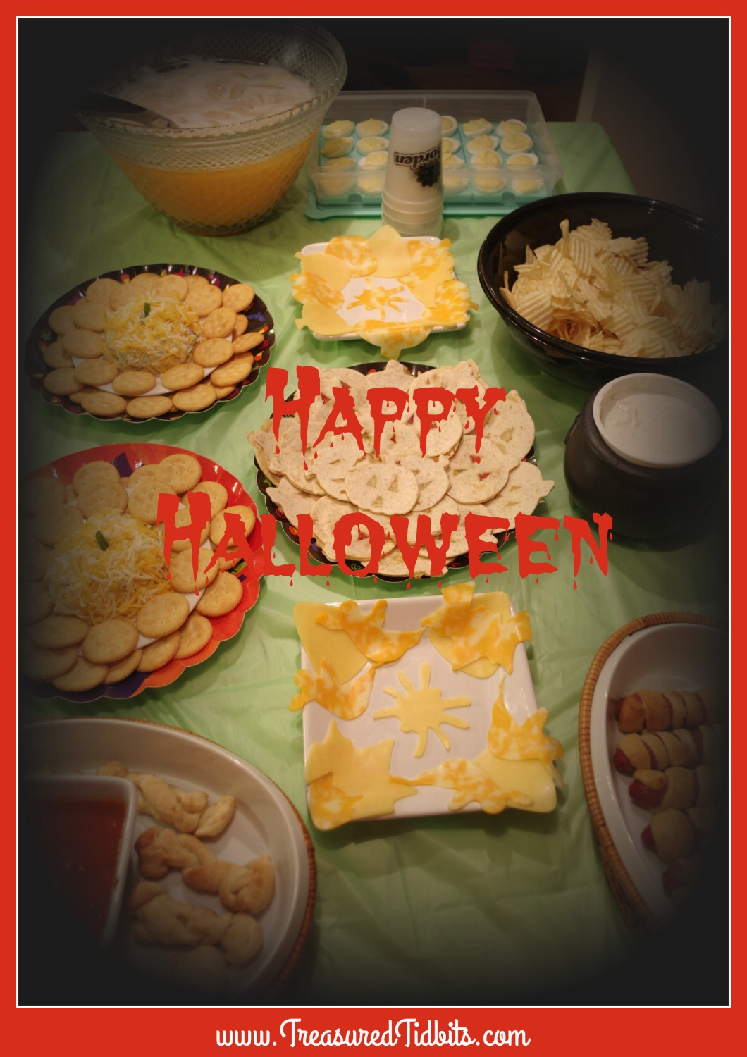 food photo halloween party on a budget