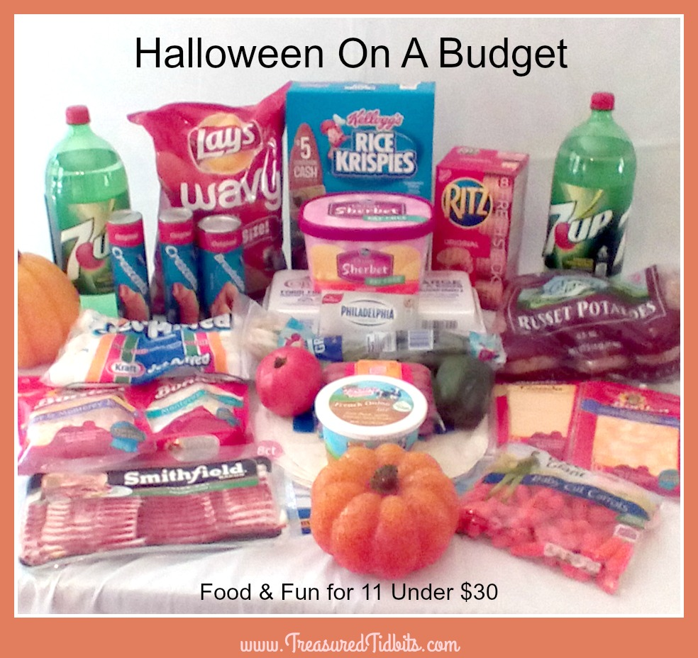 halloween on a budget groceries
