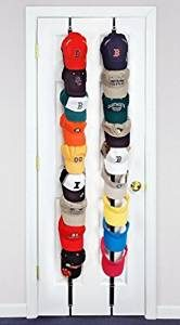 over the door cap holder to organize your accessories