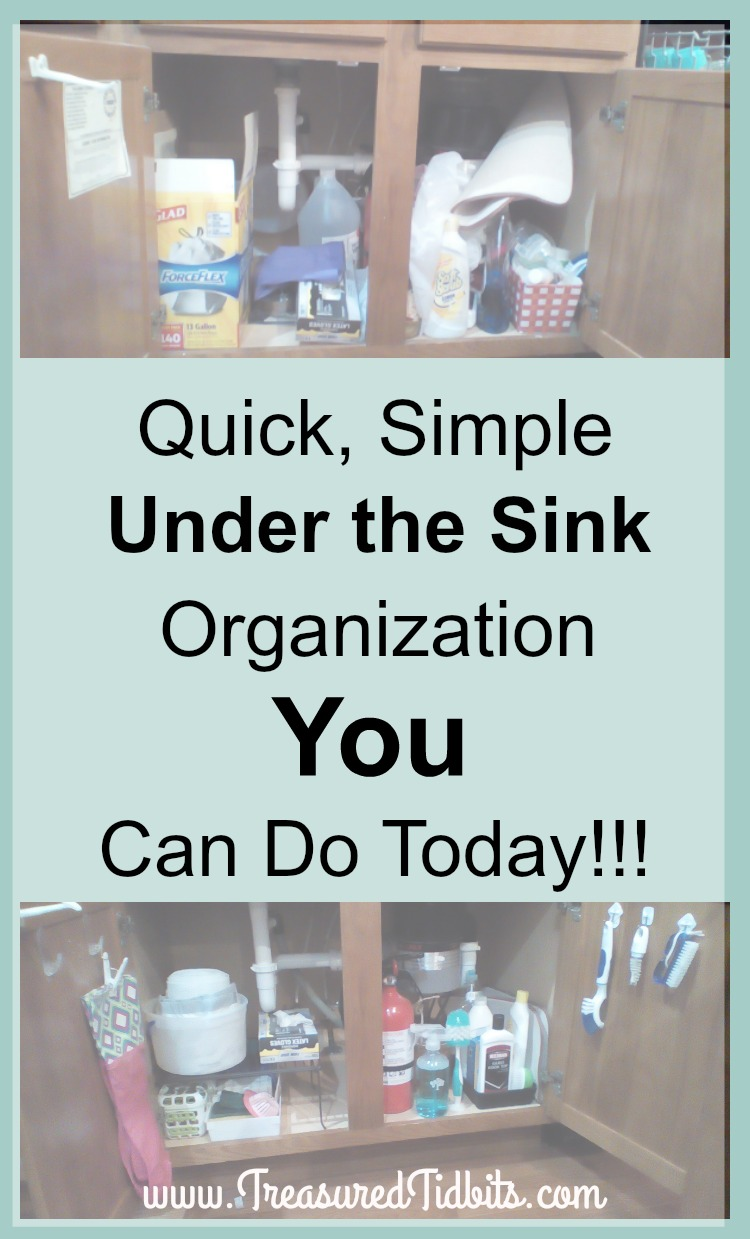 Under The Kitchen Sink Storage Treasured Tidbits By Tina Simple Under The Kitchen Sink