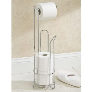 toilet-roll-holder-for-extra-bathroom storage