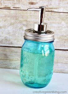 transfer-mouthwash-or-hand-soap-to-a-decorative-jar-to-keep-bathroom counter-organized