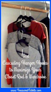 use-casading-hanger-hooks-to-maximize-you closet rod wardrobe-clever-closet