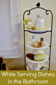 use-a-tiered-server-for-bathroom counter-organization