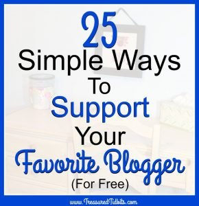 25 Ways to Support Your Favorite Blogger For Free