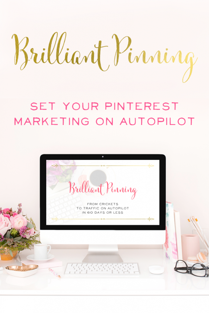 Brilliant Business Moms Brilliand Pin Promotion