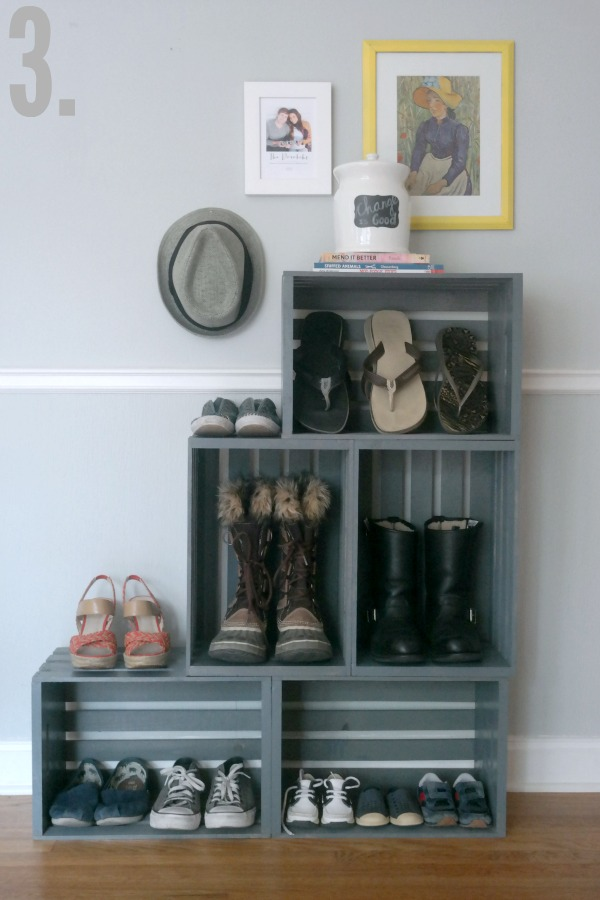 10 Simple Shoe Organization Solutions