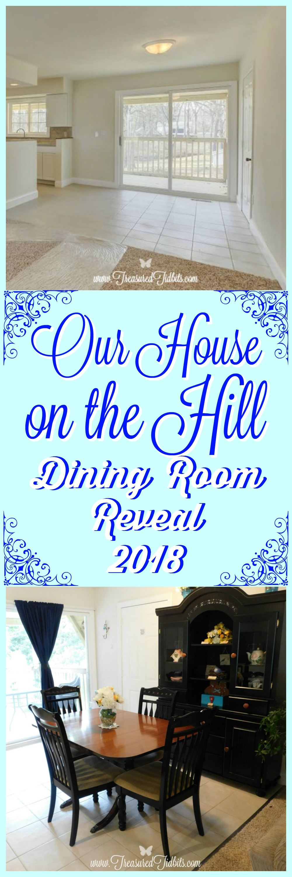 Our House on the Hill Dining Room Reveal & Organization